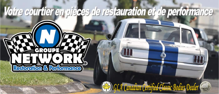 Groupe Network groupenetwork mustang restauration performance racing original courtier pieces