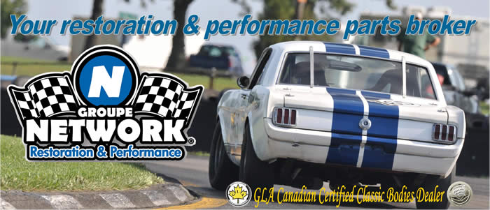 groupe network groupenetwork parts restoration performance mustang classic racing